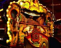 Órgão de tubulação à terra justo Imagem de Stock Royalty Free