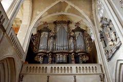 Órgão de tubulação Imagem de Stock Royalty Free