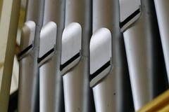 Órgão de tubulação, tubulações Fotos de Stock Royalty Free
