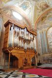Órgão de tubulação velho Imagem de Stock Royalty Free