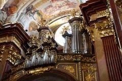 Órgão em Melk Fotografia de Stock Royalty Free