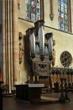 Órgão - instrumento de música celestial Fotografia de Stock