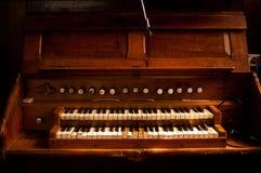 Órgãos de tubulação velhos Fotos de Stock Royalty Free