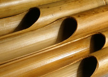 Órgano de bambú Imagenes de archivo