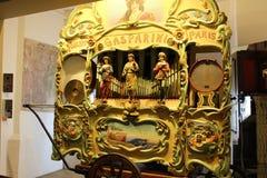 Órgano de barril en el museo del reloj, Utrecht Foto de archivo libre de regalías