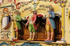 Órgano de barril en el museo del reloj, Utrecht Imagen de archivo libre de regalías