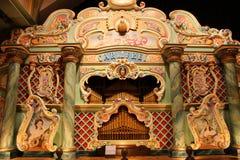 Órgano de barril en el museo del reloj, Utrecht Fotos de archivo