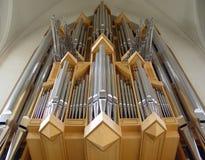 Órgano de Hallgrimmskirkje Imagen de archivo libre de regalías