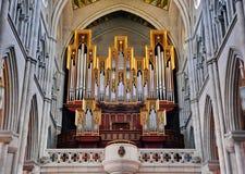 Órgano de la iglesia imagen de archivo libre de regalías