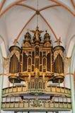 Órgano de la iglesia Foto de archivo