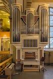 Órgano de la iglesia fotos de archivo