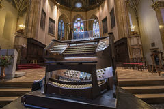 Órgano de la iglesia imagenes de archivo