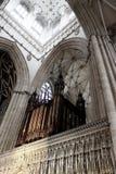Órgano de la iglesia de monasterio de York, Reino Unido Imágenes de archivo libres de regalías