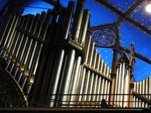 Órgano de Montreal Imágenes de archivo libres de regalías