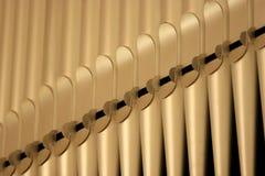 Órgano de tubo Fotos de archivo libres de regalías