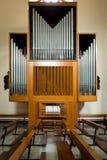 Órgano del instrumento musical Imagen de archivo libre de regalías