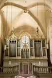Órgano del santo Michael Cathedral Foto de archivo libre de regalías