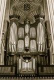 Órgano en abadía del baño Fotografía de archivo libre de regalías