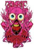 Órganos del zombi stock de ilustración