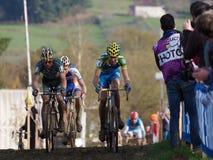 ô círculo de Cyclocross do copo 2011-2012 de mundo Imagens de Stock