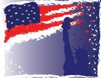 ô do fundo de julho ilustração do vetor