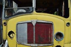 Ônibus abandonado fotos de stock royalty free