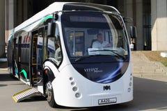 Ônibus Belkommunmash produzido A420 Imagem de Stock Royalty Free