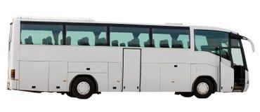 Ônibus com porta aberta Imagem de Stock
