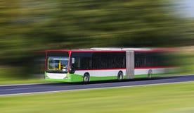 Ônibus da cidade Fotografia de Stock Royalty Free