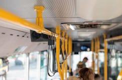 Ônibus da cidade imagens de stock