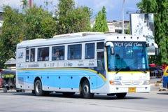 Ônibus da companhia aérea de Nakhonchai nenhum 18-117 Imagens de Stock Royalty Free