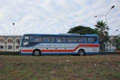 Ônibus da empresa de Vintour nenhum 155-10 Fotos de Stock