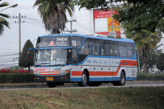 Ônibus da empresa de Vintour nenhum 155-10 Fotografia de Stock