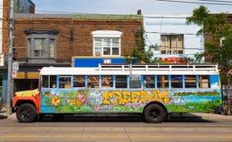 Ônibus da liberdade Imagens de Stock Royalty Free