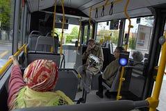 Ônibus de DENMARK_DANMARK_new imagem de stock royalty free