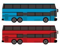 Ônibus de dois andares Ilustração Royalty Free