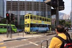 Ônibus de dois andares foto de stock