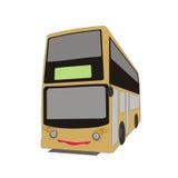 Ônibus de dois andares ilustração stock