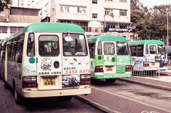Ônibus de Ongkong Foto de Stock