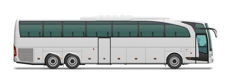 Ônibus de turista Fotografia de Stock