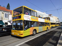 Ônibus de turista de Lisboa foto de stock royalty free