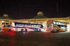 Ônibus de Volvo da empresa do governo do transporte Rota de ônibus de 15 medidores Imagens de Stock