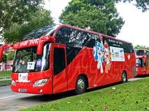 Ônibus de YOG Foto de Stock Royalty Free