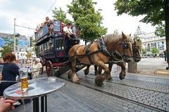 Ônibus do turista Imagens de Stock