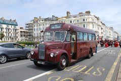 Ônibus do vintage de Guy Special imagens de stock royalty free