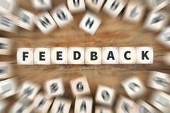Ônibus dos dados da revisão da avaliação de opinião do serviço ao cliente do contato do feedback foto de stock royalty free