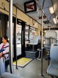 Ônibus em Roma Foto de Stock