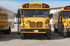 Ônibus escolar Foto de Stock Royalty Free