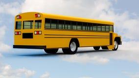 Ônibus escolar Imagens de Stock Royalty Free
