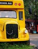 Ônibus escolar velho do vintage Imagens de Stock Royalty Free